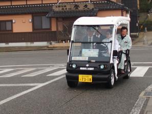 ゴルフの足がまちを活性化する生活の足に~輪島でヤマハのゴルフカート自動走行~