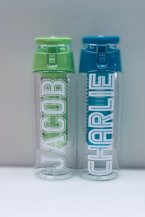 Water bottle - personalised with name