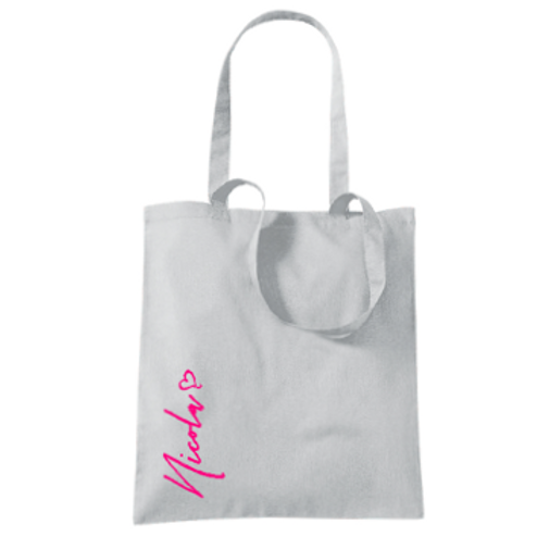 Personalised Tote Bags - 4 great colours to choose from