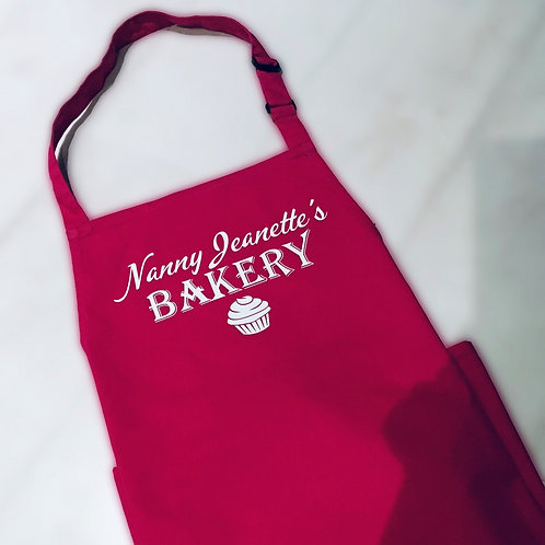 Personalised Baking Apron - Add any name
