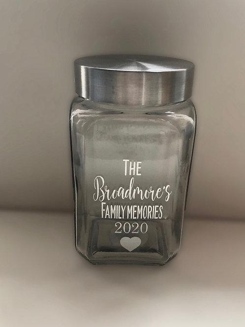 Memory Jar - 2020