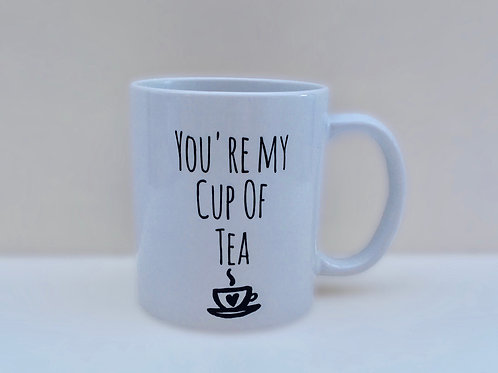 Mug & Coaster - 'You're my cup of Tea' Buy individually or as a set