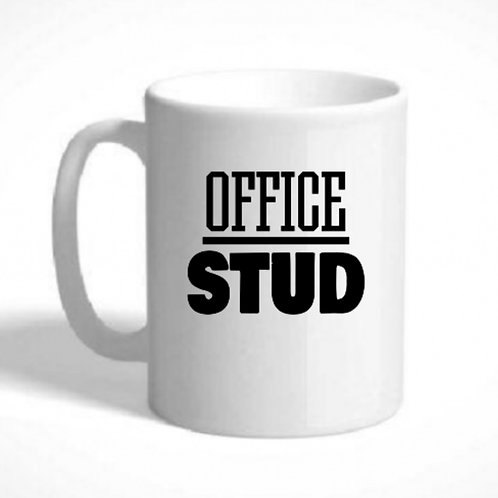 Mug - OFFICE STUD, Can be personalised with a message or name