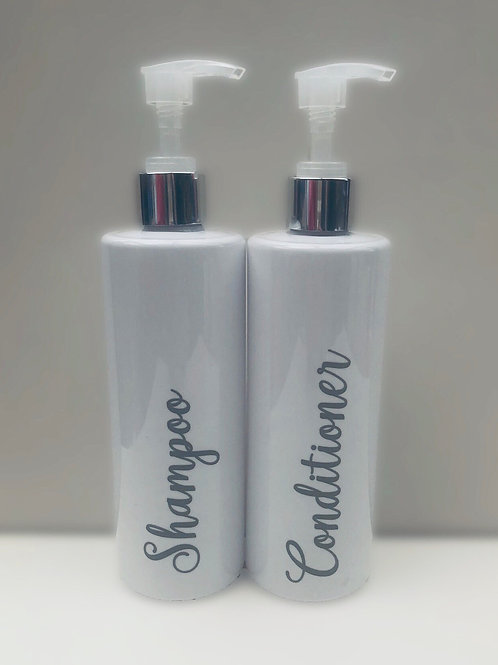 Bathroom/Kitchen Pump bottles - Personalise with any wording