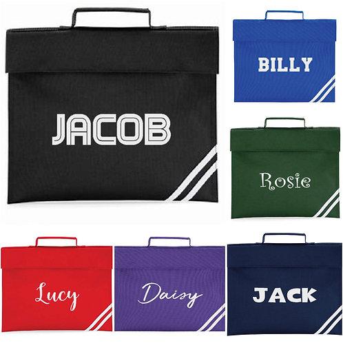 Personalised Book Bag - choose your Design