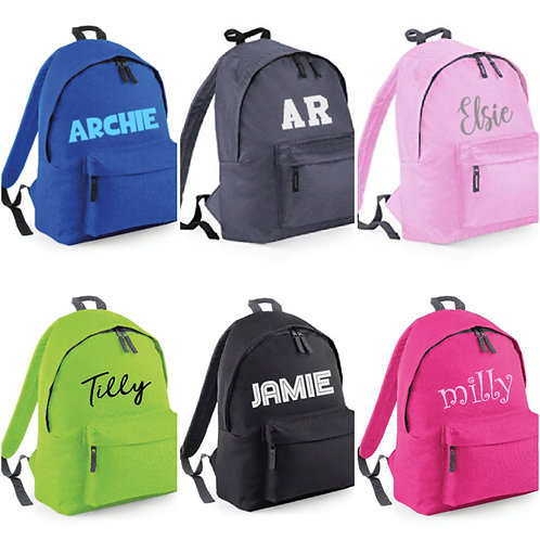 Personalised Backpack - Choose your Design