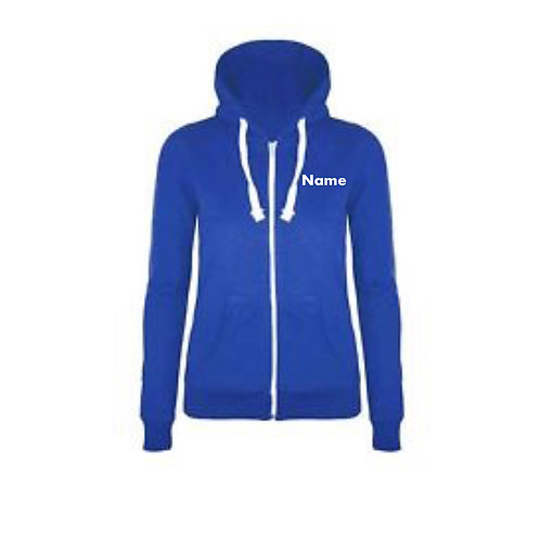 Zip up Hoodie - Royal Blue