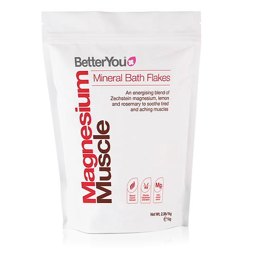 Magnesium Muscle Bath Flakes