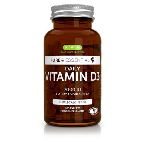 Pure & Essential Daily Vitamin D3 2000iu