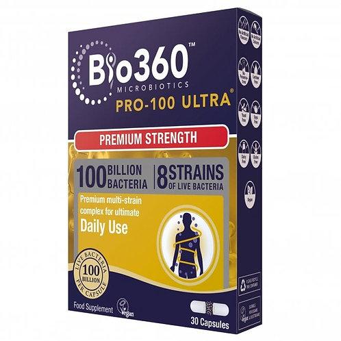 Pro-100 Ultra® Probiotics (100 Billion Bacteria)