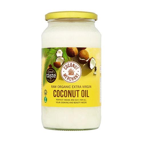 Raw Organic Extra Virgin Coconut Oil 1000ml
