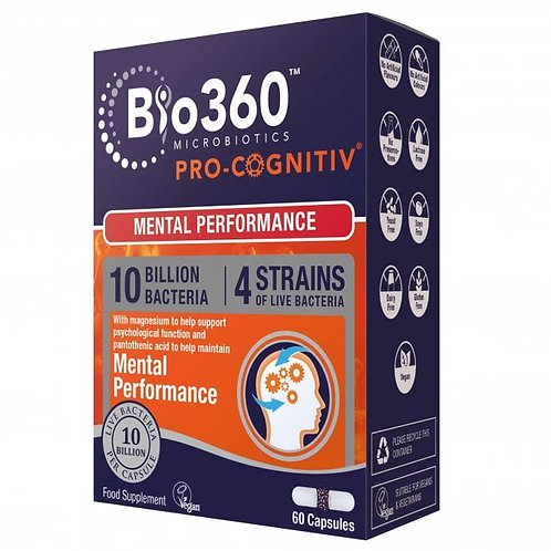 Pro-Cognitiv®Probiotics (10 Billion Bacteria)