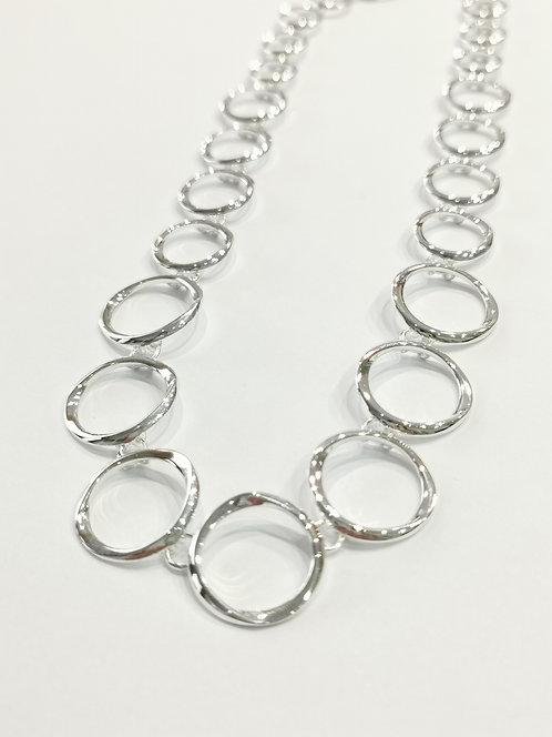 Sterling Silver Open Link Necklet