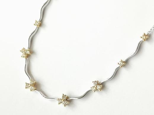 42968 18ct white gold 0.88ct Yellow diamonds £2800.00