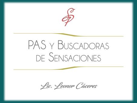 Personas Altamente Sensibles y Buscadoras de Sensaciones.