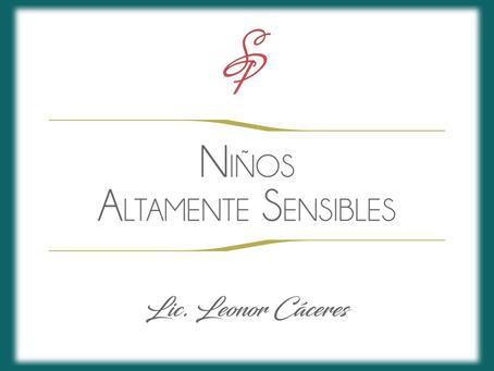 Niños Altamente Sensibles (NAS).