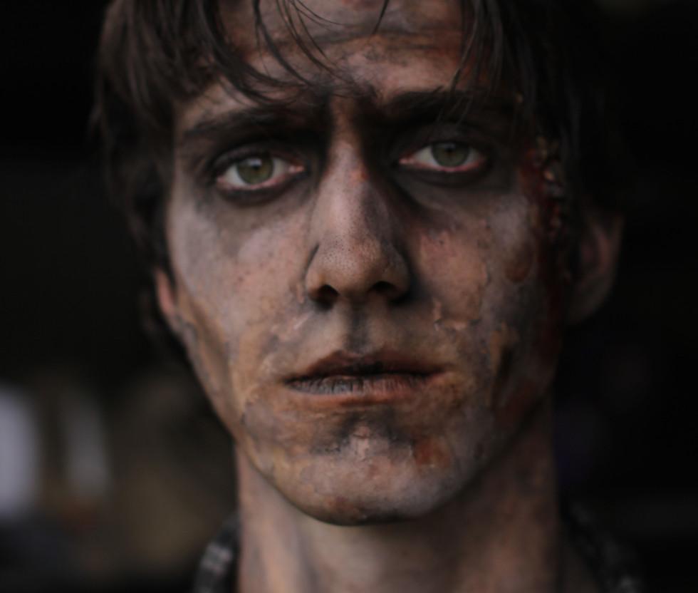 Grunge Zombie Makeup