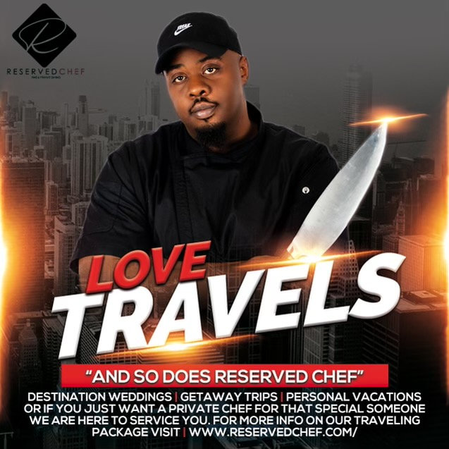 Reserve a Traveling Chef