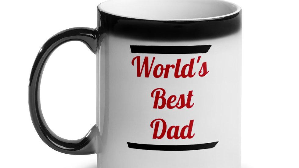 World's Best Dad Glossy Magic Mug