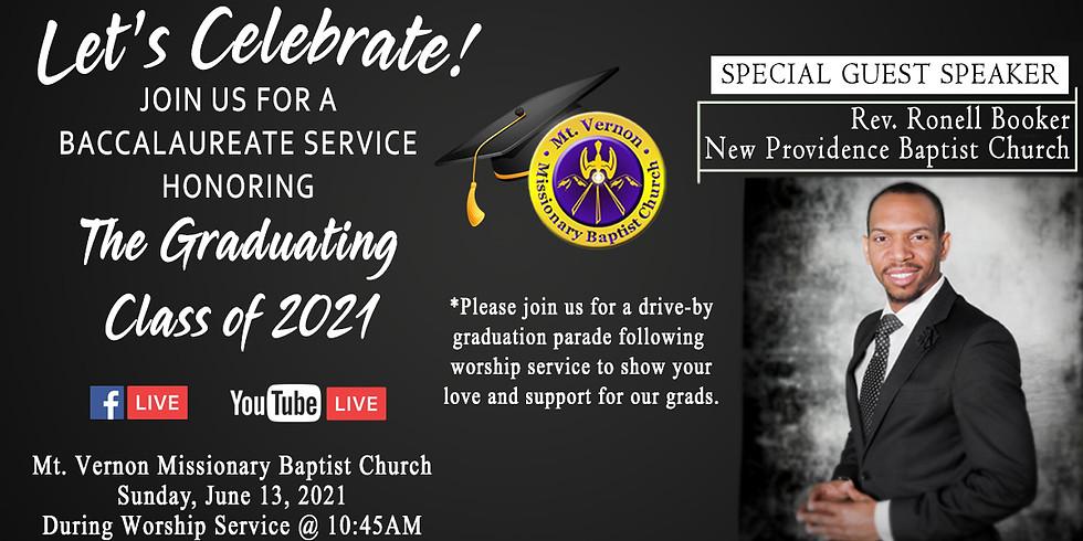 2021 Baccalaureate Service
