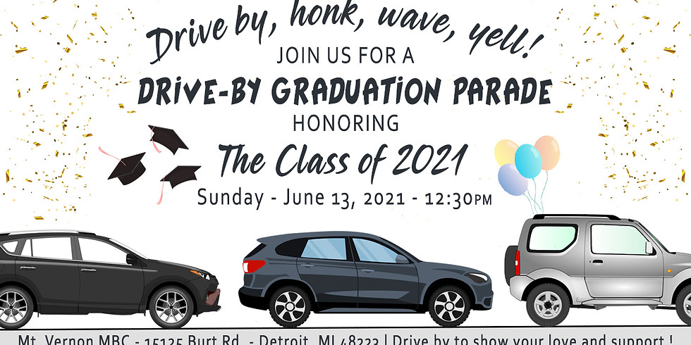 2021 Baccalaureate Drive By Celebration
