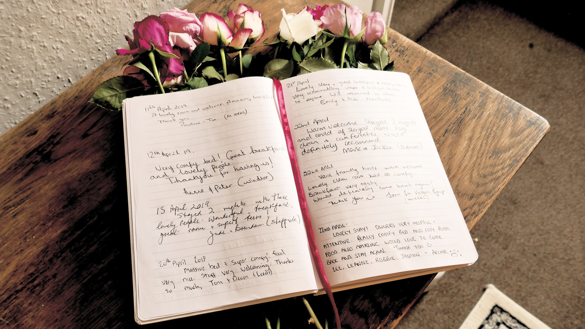Our Guestbook 4
