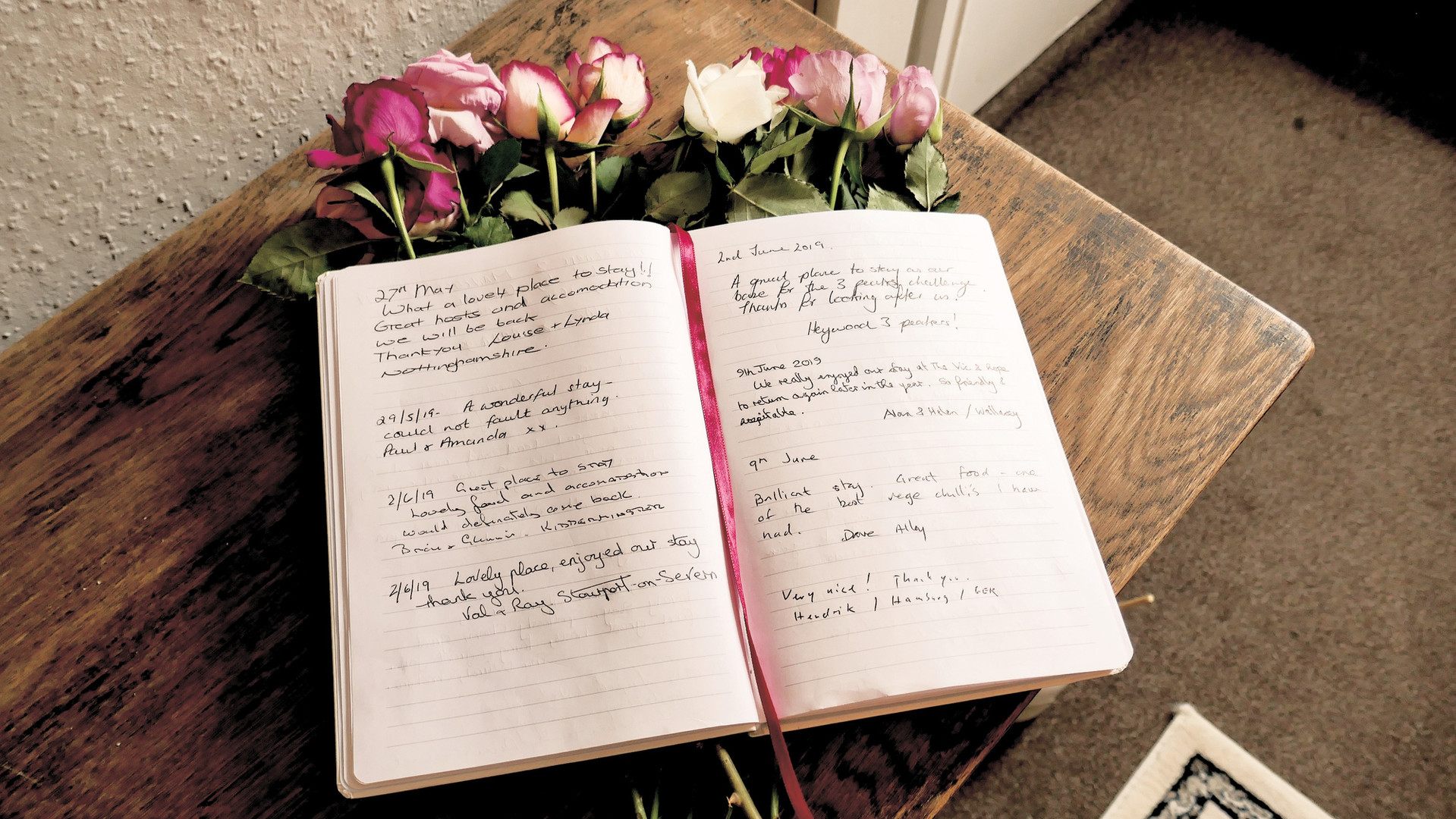 Our Guestbook 1