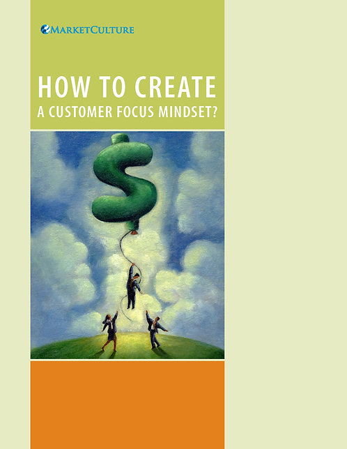 How to Create a Customer Focus Mindset. Use coupon code FREE15
