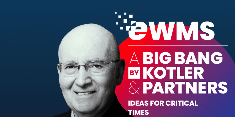 eWorld Marketing Summit - Hosted by the Father of Marketing, Professor Philip Kotler