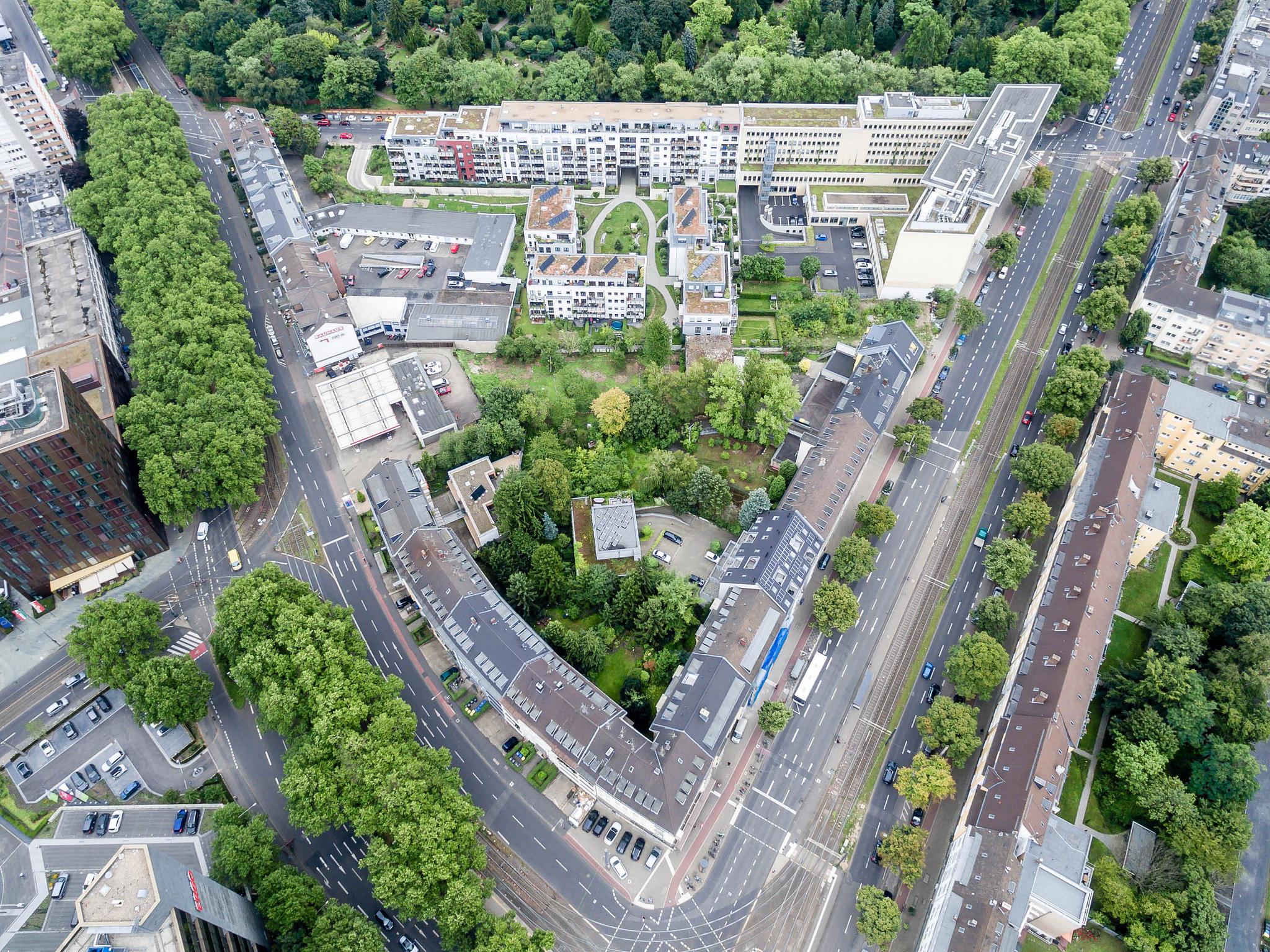 Luftbild Aachener Straße...