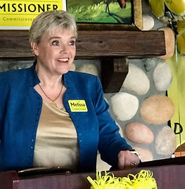 Picture of Melissa campaigning