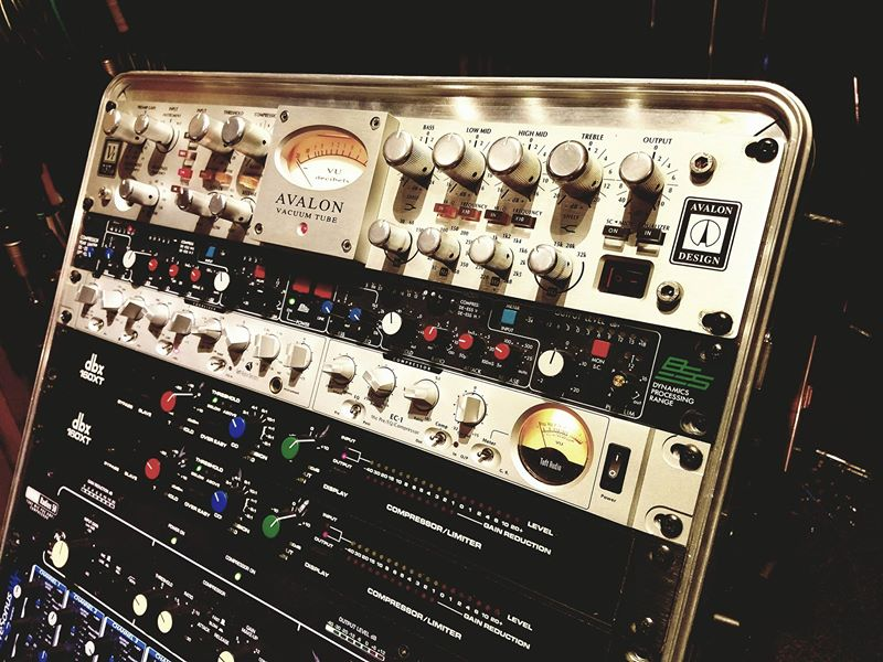 Racks of the best outboard gear