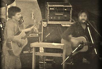 Bob Johnston & Jimmy Foot 1982 - Sepia.j