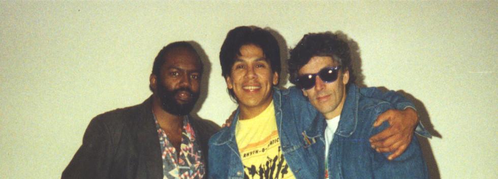 ROM Ernie Rudy & JF 1988.jpg