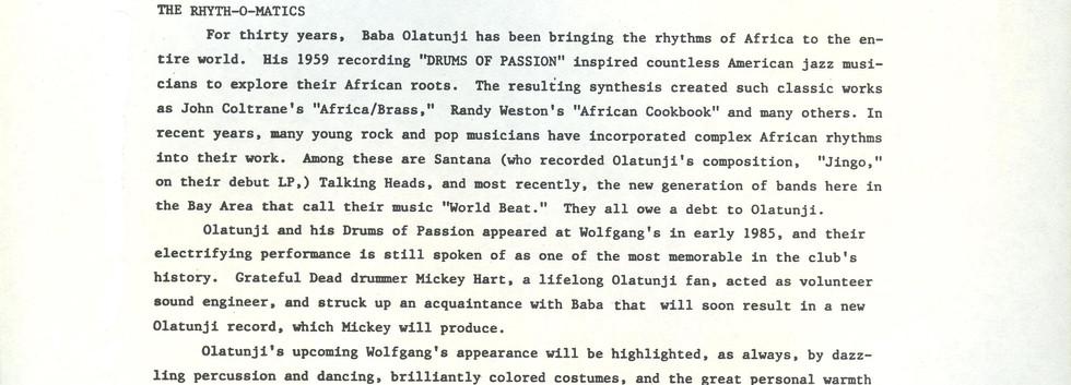 Wolfgangs Press release Olatunji ROM 001