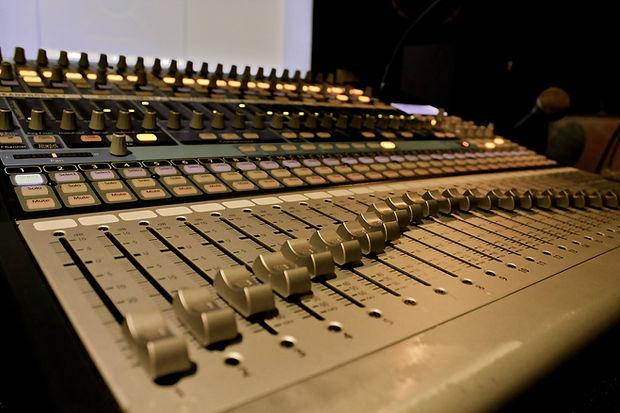 Bongo Boy Studio Mixing Console