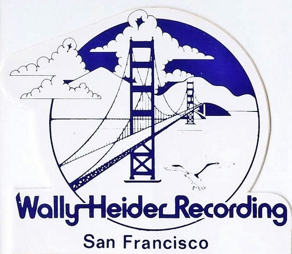 Wally Heider Recording - San Francisco -