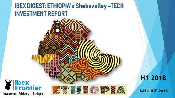 IBEX DIGEST: ETHIOPIA - SHEBAVALLEY TECH & STARTUP INVESTMENT - H1 2018