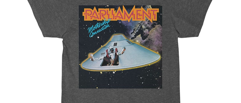 PARLIAMENT Mothership Connection George Clinton P-Funk Men's Short Sleeve Tee