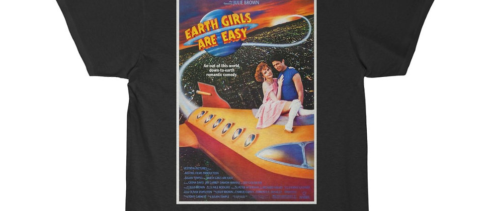 Earth Girls Are Easy movie poster Men's Short Sleeve Tee