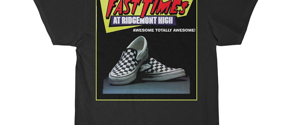 Fast Times At Ridgemont High Vans Men's Short Sleeve T Shirt