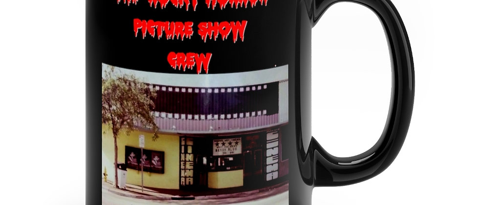 For The Rocky Horror Crew at the Grove South Florida Black mug 11oz