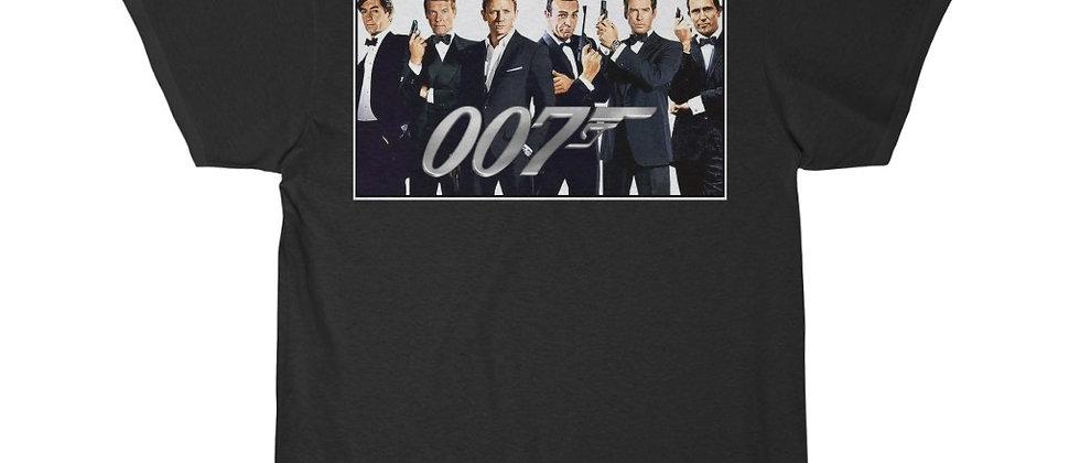 007 A collection of James Bonds  Men's Short Sleeve T Shirt