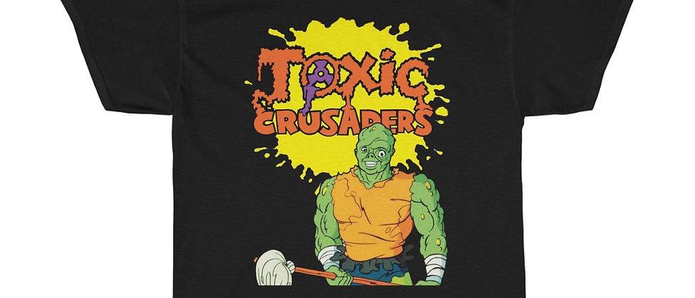 The Toxic Crusaders 80s cartoon Troma Unisex Heavy Cotton Tee