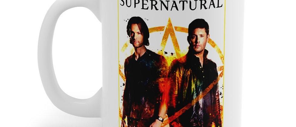 Supernatural Sam and Dean Winchester Mug 11oz