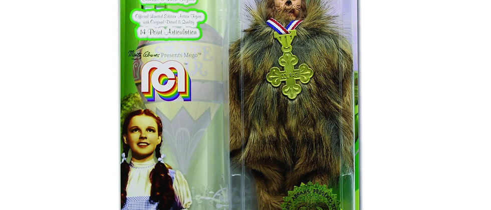 MEGO Wizard of Oz Cowardly Lion Action Figure