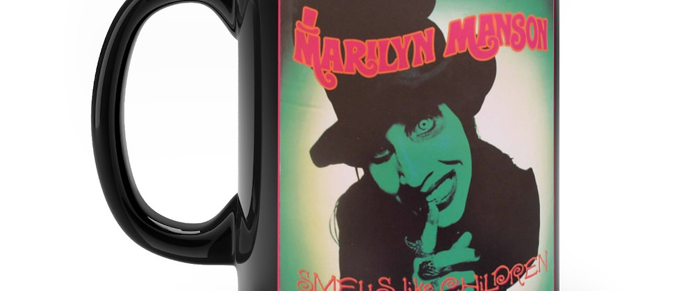 MARILYN MANSON Smells like Children LP Black mug 11oz