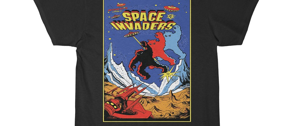 Space Invaders Player 2 Men's Short Sleeve Tee