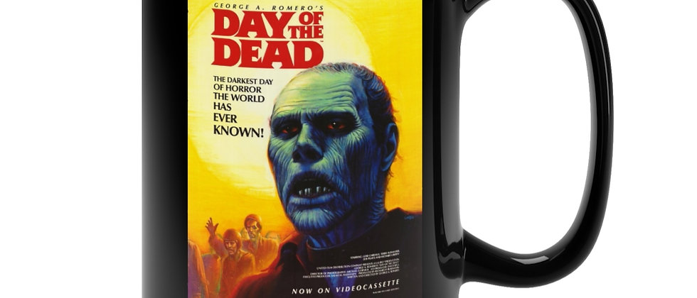 Day Of The Dead Poster  Black Mug 15oz