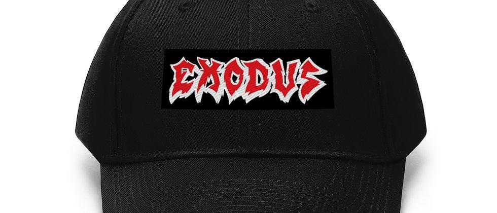 EXODUS Unisex Twill Hat